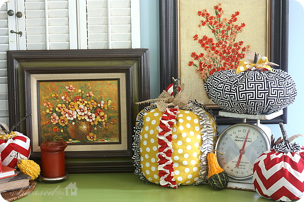 8 Household items that double as lovely fall decor