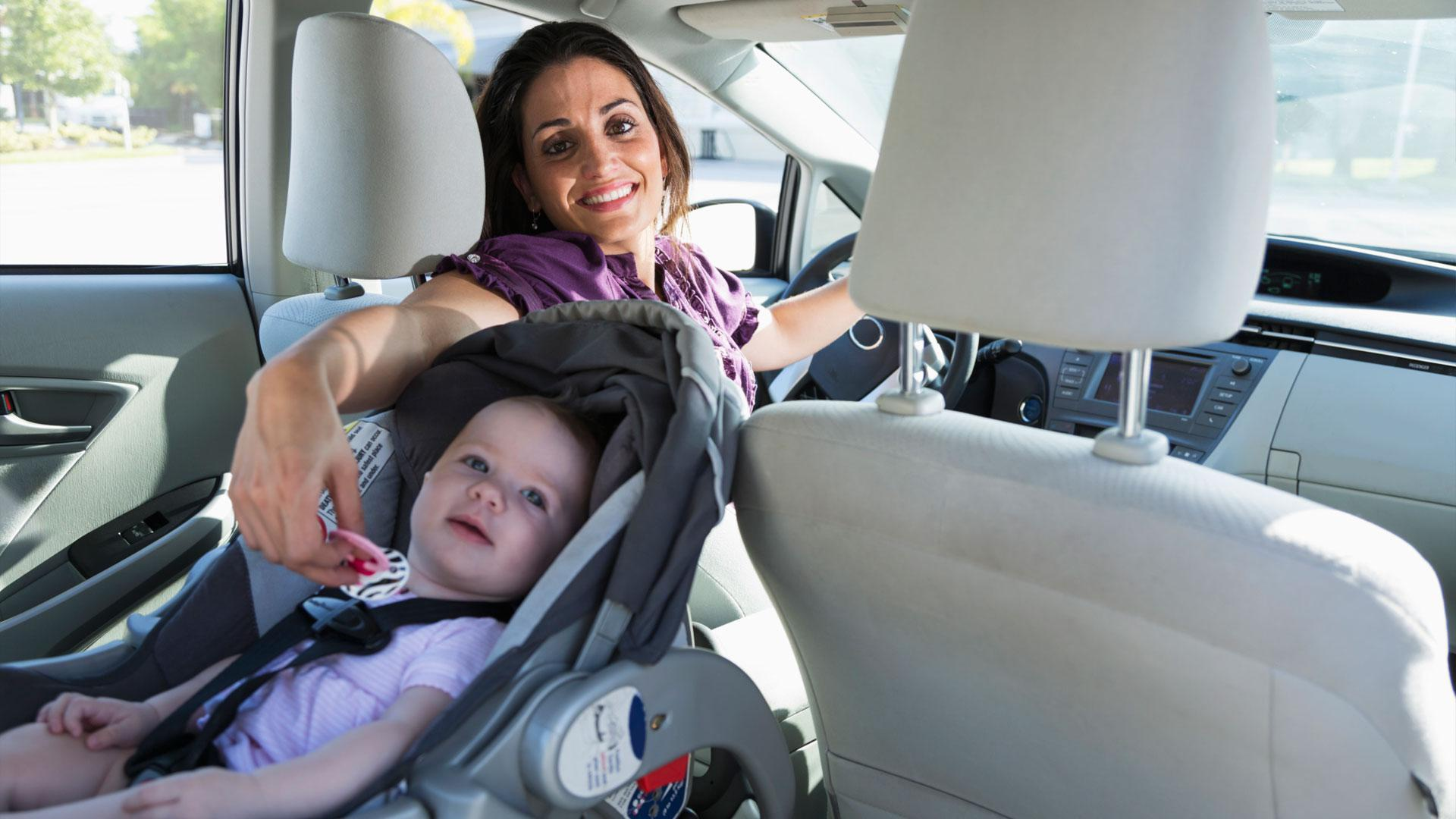 Help! My child's choking and we're stuck in traffic