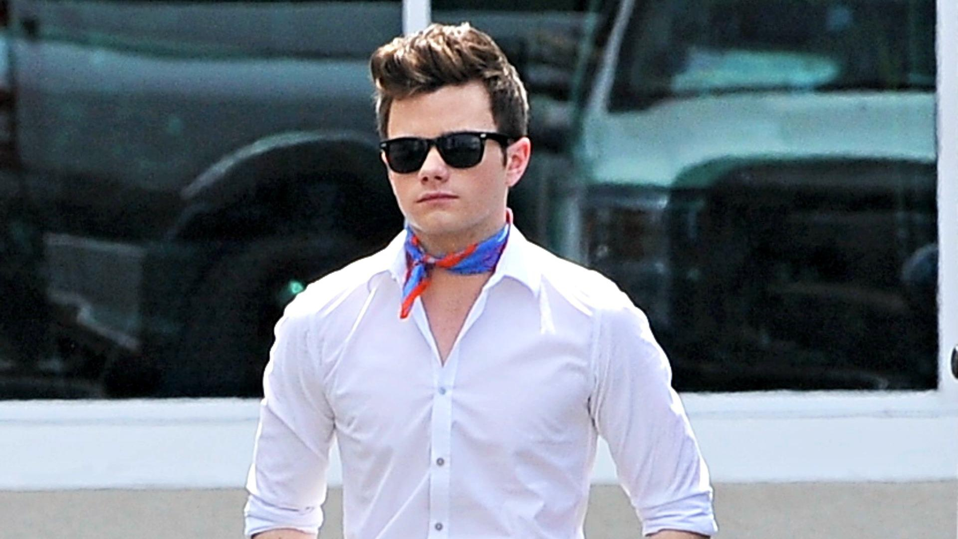 Calm down, Gleeks: Chris Colfer's Twitter was hacked