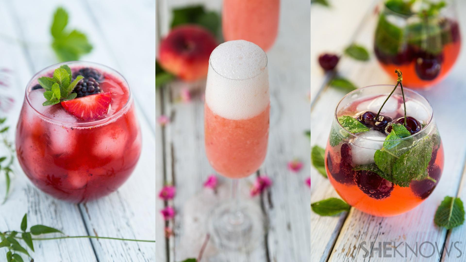 Seasonal cocktails that make us want to plant fruit trees