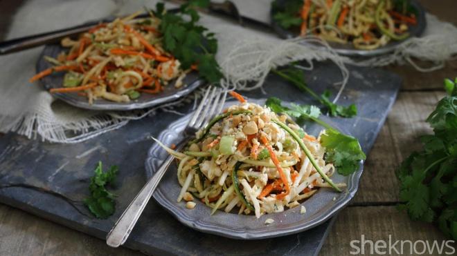 vegetable noodle pad thai
