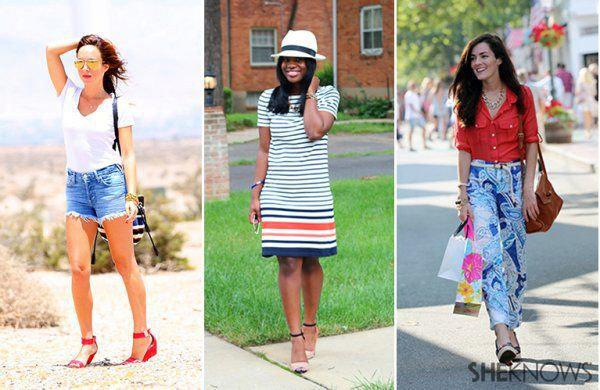 3 Stylish looks for Fourth of July weekend